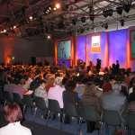 Produktpräsentation in Messe Halle A